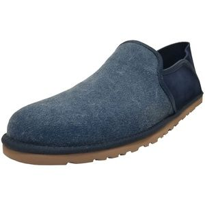 UGG Mens Cooke Canvas Slippers Marino Navy 10M